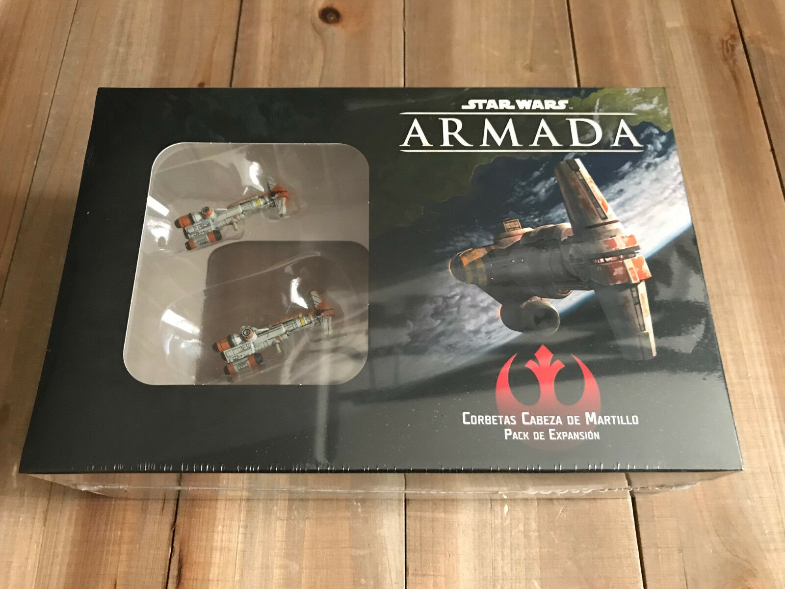 Star Wars Armada - Corvettes Hammer Head - Ffg - Set Combat Tactical
