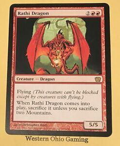 RATHI DRAGON Ninth Edition MTG Red Creature — Dragon RARE