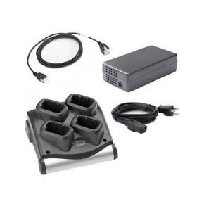 Motorola-SAC9000-4000R-4-Bay-Battery-Charger-Cradle-MC9090-MC9190-MC9200-MC92N0