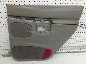Right Rear Door Interior Trim Panel 2000 Ford Explorer Graphite Passenger Side