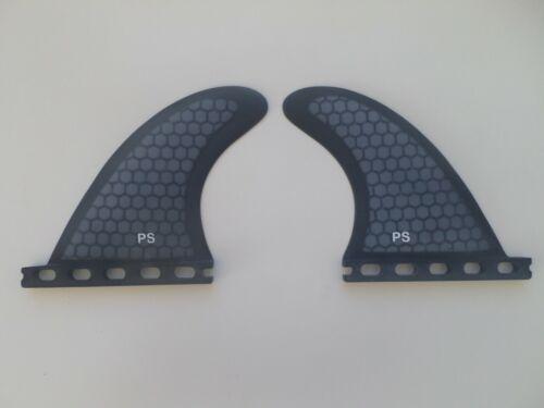 REAR QUAD set PERFORMANCE CORE surfboard fibreglass FINS 2 fins FUTURES compat