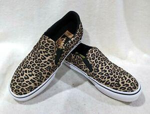 Vans Women's Asher Deluxe Cheetah Black