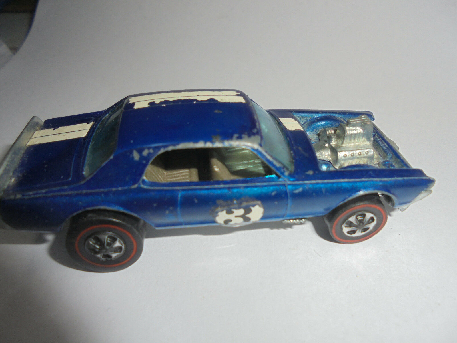 27822 Mattel Hot Wheels redline Nitty Gritty Gritty Gritty Kitty dark blue blue 1969 Hong Kong 0401d0