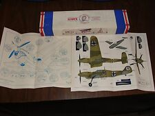 Vintage HAWK Model Aeroplane Co. Deluxe Model Kit  MESSERSCHMITT FREE SHIPPING!!