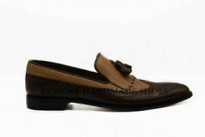 Mocassins-en-cuir-et-en-daim-marron-faits-a-la-main-pour-hommes-et-chaussures-a