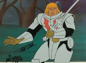 He-Man And The Masters Of The Universe Original Production Animation Cel