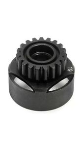 HPI-RACING-SAVAGE-4-6-Plata-Gris-plomo-77109-X-Racing-Clutch-Bell-19-diente-B