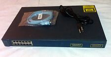 Cisco WS-C3512-XL-EN with Power and Blue Console Cable - Tested