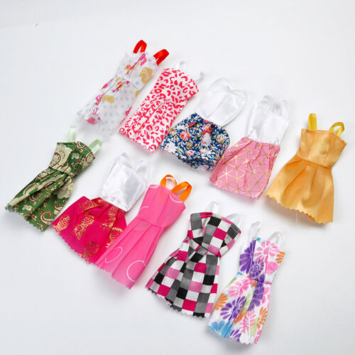 "10Pcs Lot Beautiful Handmade Dresses Clothes For 11/"" Doll Style Random CA"