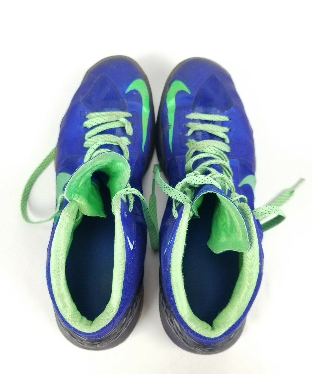 sports shoes 44d20 99cd3 ... Nike Zoom Hyper Disruptor Sneakers Blue Green 548180 402 402 402 Size  12 e53dff ...