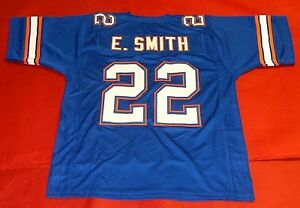 new arrival 71403 c6643 Details about EMMITT SMITH CUSTOM FLORIDA GATORS B JERSEY