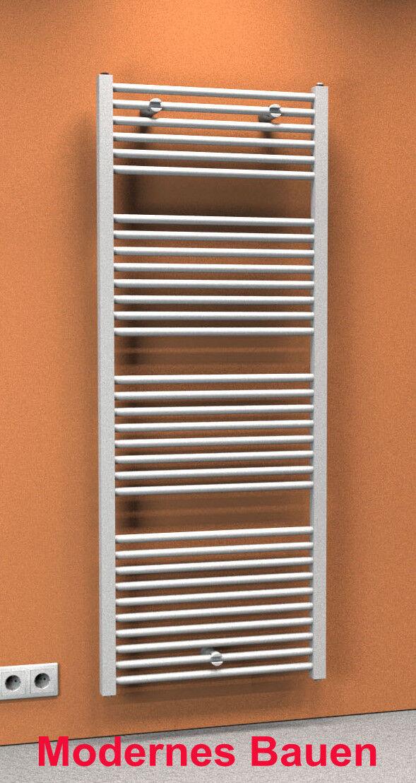 Schulte TURBO Badheizkörper gerade 60 x 153,5 cm, Handtuchwärmer, Farbe weiß