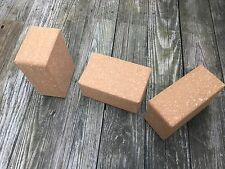 Yoga Block, Cork Yoga Block, Yoga Props, Yoga Brick