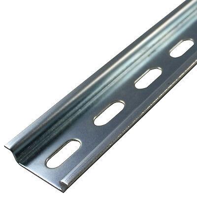 DIN Rail 1 Meter*35mm*7.5mm Steel 10-Pak