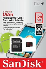 100MBs A1 U1 C10 Works with SanDisk SanDisk Ultra 128GB MicroSDXC Verified for Lava Iris 470 by SanFlash