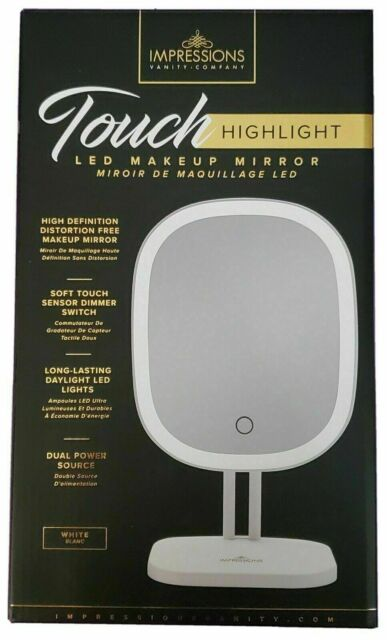 Impressions Vanity Silver Touch, Impressions Led Vanity Mirror Reviews
