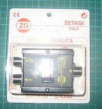 ZETAGI  mod-v2 2-Way Antenna Switch Coax Radio Signal so239