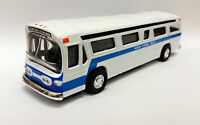 "Classic New York city metro bus diecast model toy 6"" inch size"