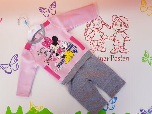 Jogginganzug Baby Minnie Mouse 68 80 86 92