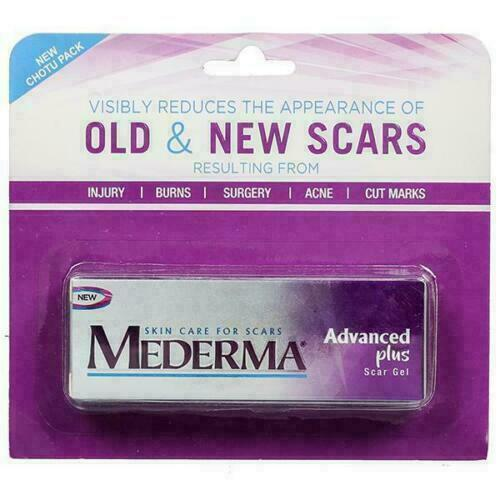 Mederma Advance Plus Scar Gel Skin Stretch Mark Removal Acne Burn