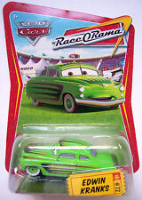 EDWIN KRANKS disney pixar cars NEW race-o-rama #72 die cast woc world of cars