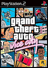 Grand-Theft-Auto-Vice-City-Sony-PlayStation-2-2002-Complete-Fast-Ship-PS2