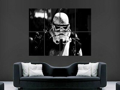 STORMTROOPER STAR WARS  LARGE GIANT WALL  POSTER PICTURE