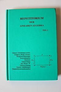 REPETITORIUM LINEARE ALGEBRA 1 EBOOK