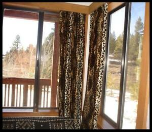Image Is Loading Leopard Print Curtains 2 Panels 40 034 Long