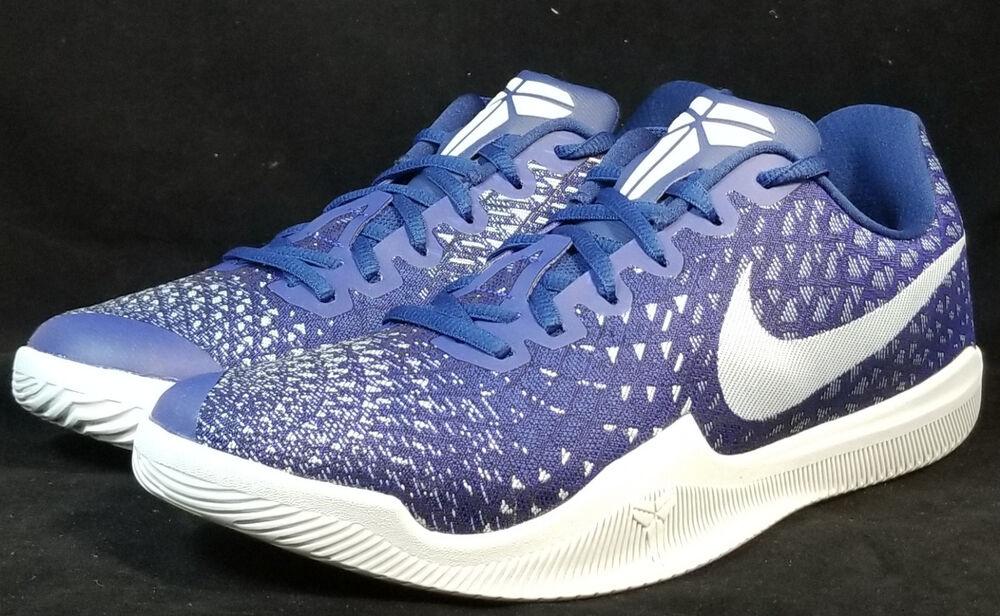 NIB NIKE homme 9 MAMBA INSTINCT 852473 400 BLUE LIFESTYLE CASUAL chaussures 100 NEW