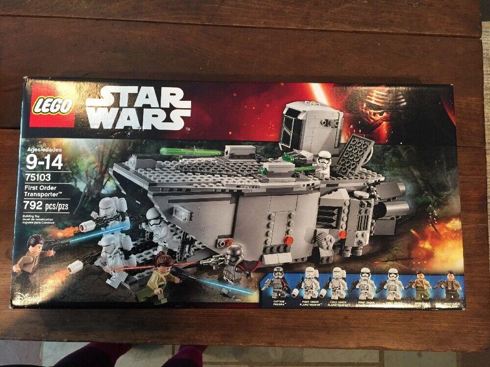 RETIROT....  LEGO Star Wars 75103 First Order Transporter - RetiROT