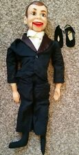 1968 Juro Charlie McCarthy ventriloquist doll USED in rough shape