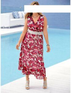 buy online 32b6d 91dc6 Details zu Designer Kleid Guido Maria Kretschmer bei heine K-Größe 52/26 NEU