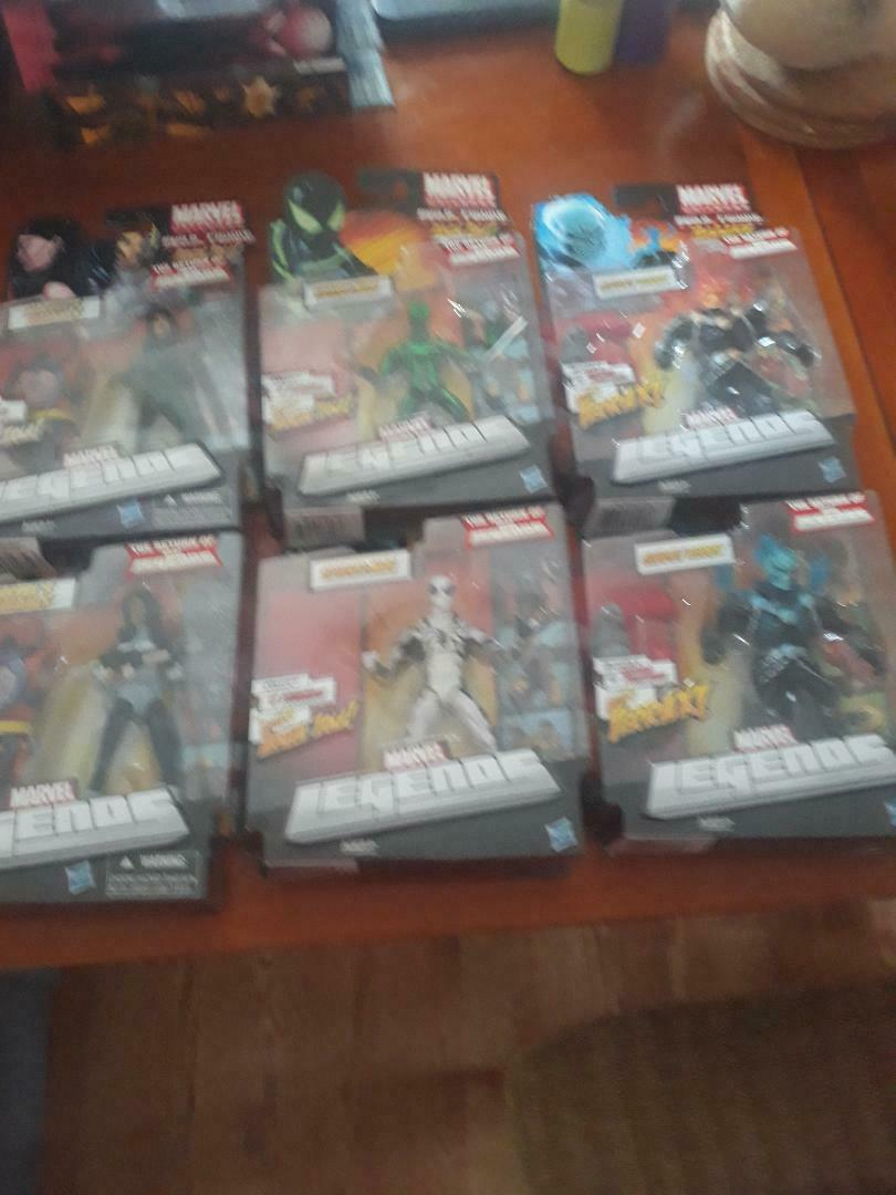 Marvel Legends Infinite ToyBiz Hasbro Mysterio Spider Gwen Spider Man 20 figures