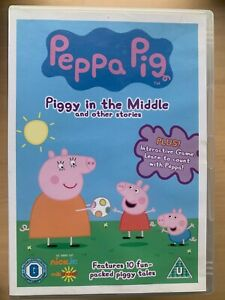 Details About Peppa Pig Piggy In The Middle British Tv Children S Cartoon Favourite Uk Dvd