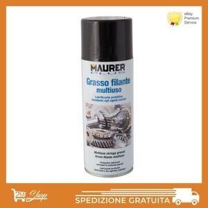 GRASSO-LUBRIFICANTE-SPRAY-FILANTE-MULTIUSO-MAURER-400-ML-PROTEGGE-INGRANAGGI