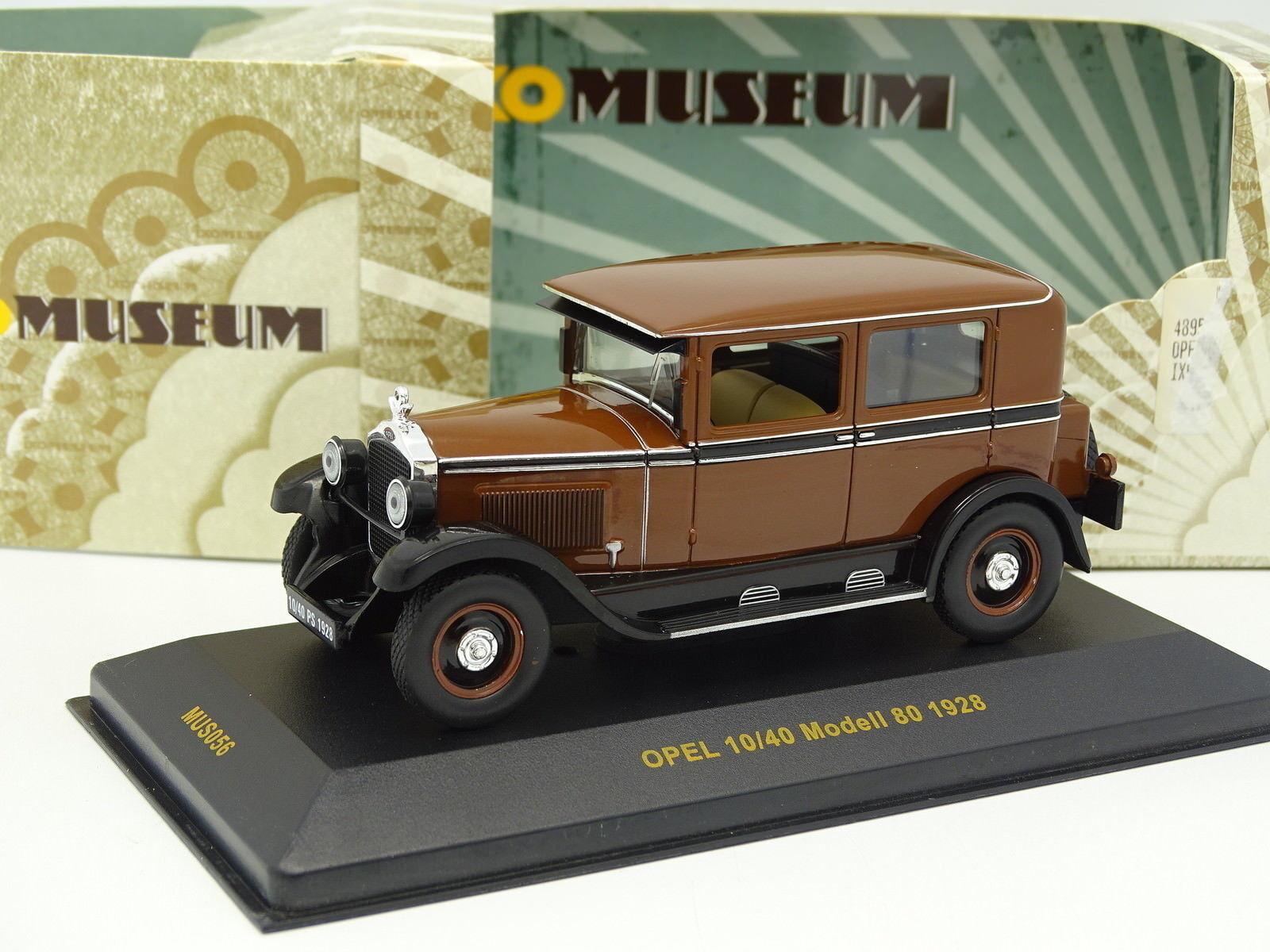 Ixo 1 43 - Opel 10 40 Modell 80 1928 Brown