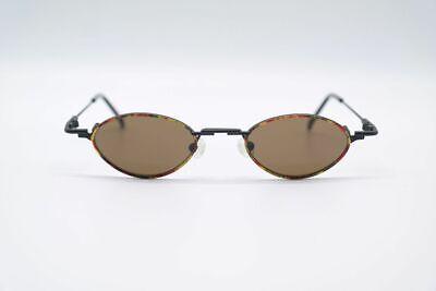 Buchner Design Ou 00.900.02 42[]20 Schwarz Bunt Oval Sonnenbrille Neu Moderater Preis