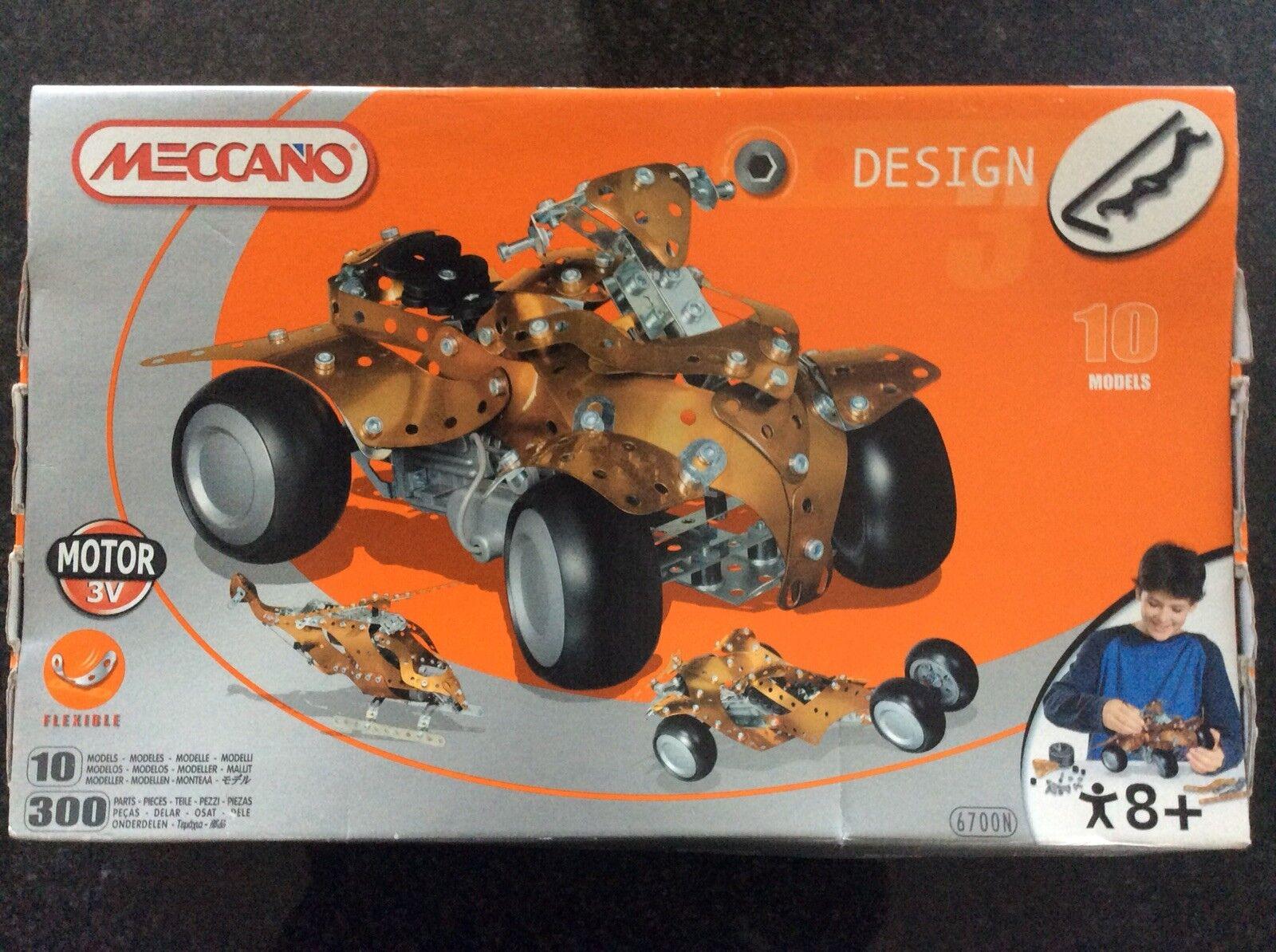 Meccano Design Quad 10 Models 6700N