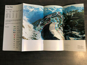 Details about Vintage 1983 1984 1986 Telluride Colorado Ski Area Guest  Guide Trail Map genuine