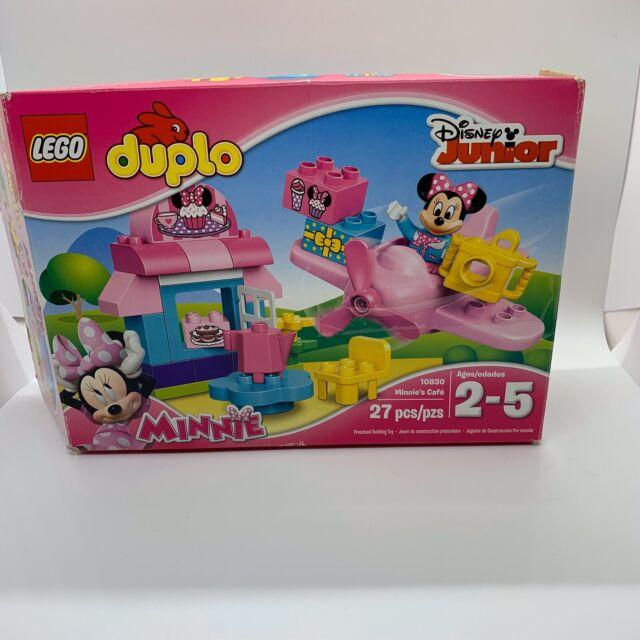 LEGO DUPLO Disney Junior 10830 Minnie's Café Minnie Mouse Used Missing 2 Pieces