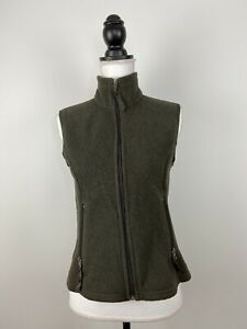 Patagonia-Synchilla-Vest-Fleece-Green-Women-s-Size-S-Made-In-USA