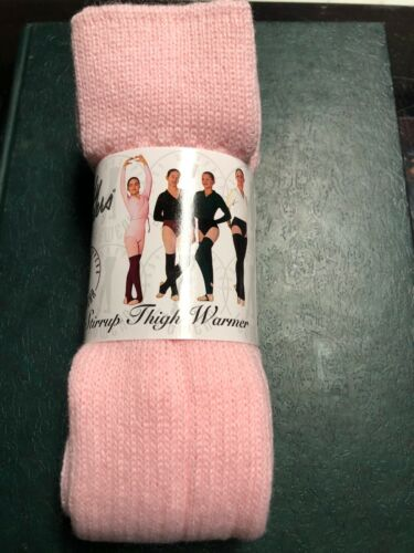 Body Wrappers Women/'s Leg Warmers Pink One Size New 36 Inch