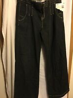 Womens Route66 Original Denim Jeans Size 3/4