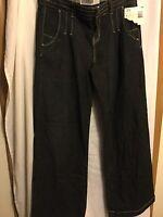 Womens Route66 Original Denim Jeans Size 3/4