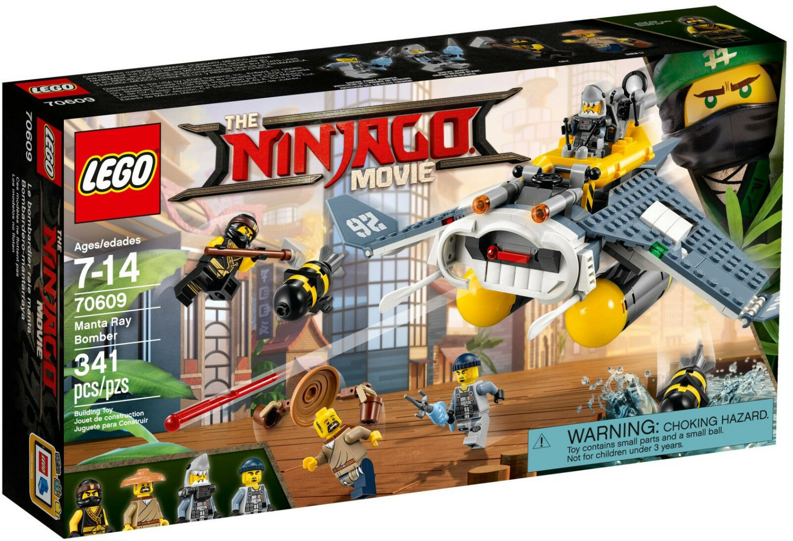 LEGO LEGO LEGO Ninjago Movie - 70609 Mantarochen-Flieger - Neu OVP f40573