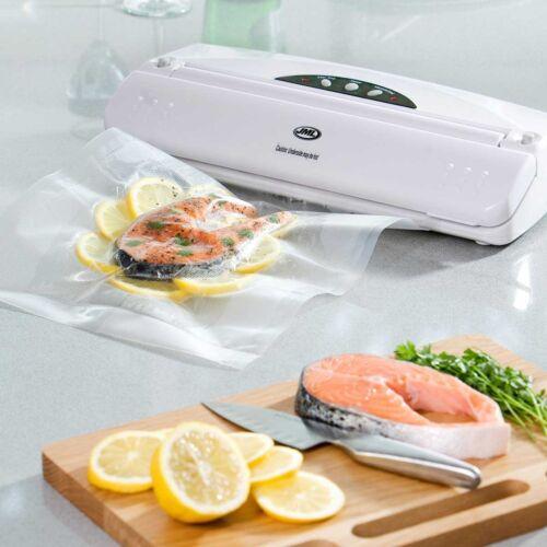 Includes 2x 3 Mètre Rouleaux de sacs! Brand New!! JML alimentaire sous vide /& Heat Sealer