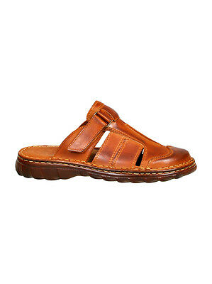 Men Leather Sandals with Memory Foam 809
