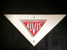 ALVIS SHOWROOM SIGN CLASSIC CAR VINTAGE ADVERTISING / AUTOMOBILIA