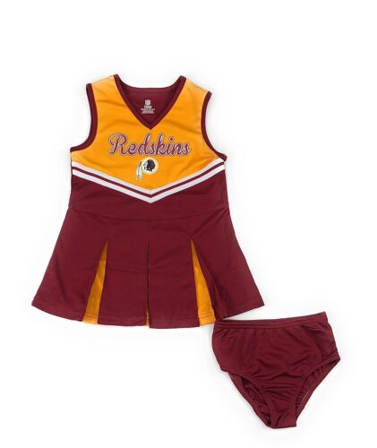 Outerstuff Washington Redskins Football Girls Cheerleader Dress Clothing Apparel